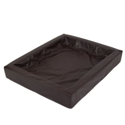 Sparpaket: Das hygienische Hundebett + Vetbed® Isobed SL Hundedecke Wave, creme/braun - Größe M + Vetbed
