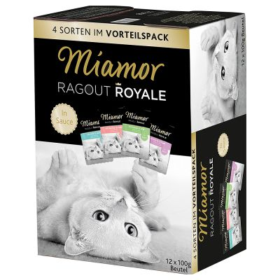 Miamor Ragout Royale -valikoima 12 x 100 g - Multi-Mix Cream