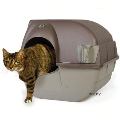 Omega Paw Roll'n Clean självrengörande kattlåda – Matta för kattoaletter XXL (bredd 60 x djup 36 cm)