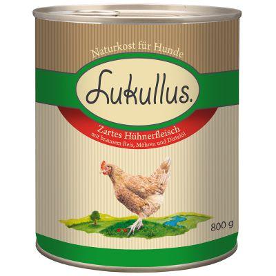 Lukullus Summer Menu, delikatne mięso z kurczaka - 6 x 400 g