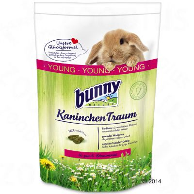 Bunny Traum Young -kaninruoka - 2 x 1,5 kg