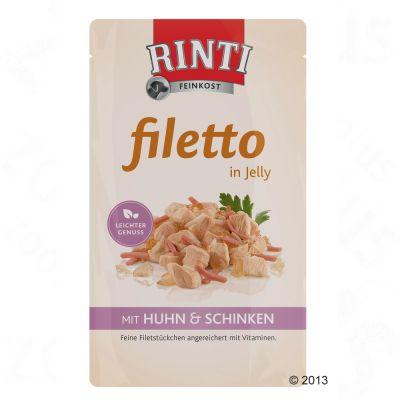 Rinti Filetto i gelé 18 x 125 g – Kyckling & grönsaker