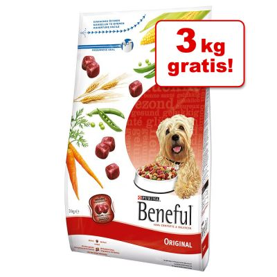 15 + 3 kg på köpet! 18 kg Beneful i bonusbag – Original Nötkött & grönsaker