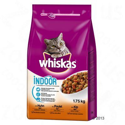 Whiskas Indoor med kyckling – 1,75 kg