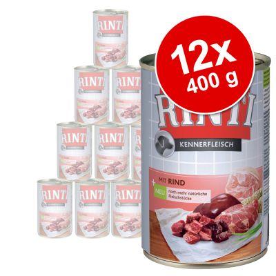 Rinti-säästöpakkaus 12 x 400 g - Junior: naudanliha