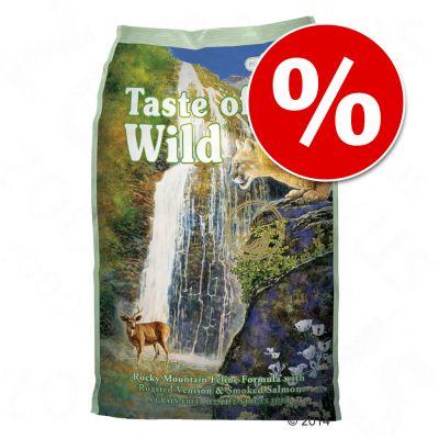 Taste of the Wild -tuplapakkaus 2 x 2 kg - Canyon River Feline
