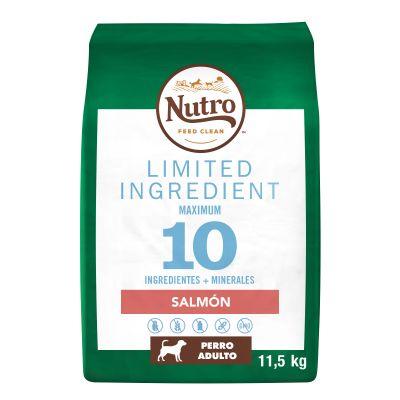 Nutro Limited Ingredient Salmón para perros  - 2 x 11,5 kg - Pack Ahorro