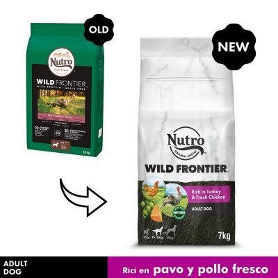 Nutro Wild Frontier Adult Pavo y pollo para perros - 7 kg