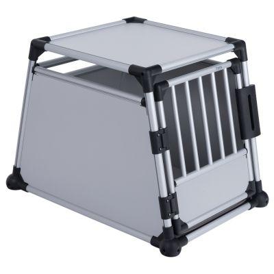 Trixie Aluminium -kuljetuslaatikko - M-koko: L 55 x S 78 x K 62 cm