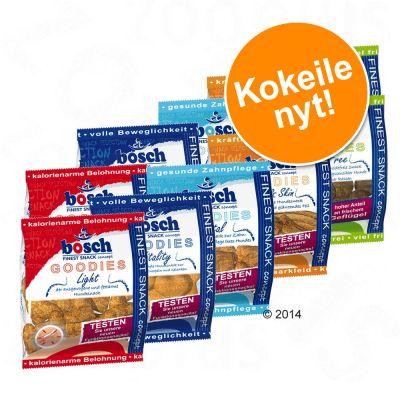 Bosch Goodies -herkkupaketti 10 x 30 g - säästöpakkaus: 4 x 10 x 30 g