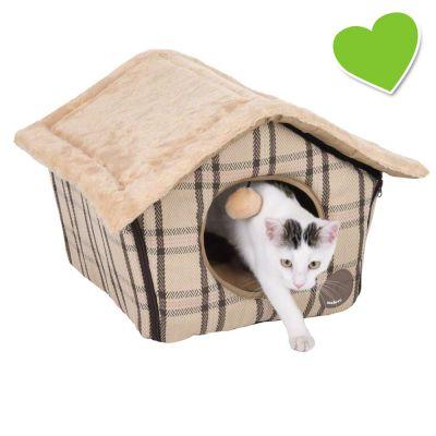 zoolove Sweet Home katthus – L 40 x B 40 x H 35 cm