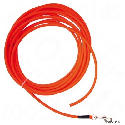 heim-sporline-biothane-rund-uden-haandlokke-orange-10-m-lang-o-8-mm