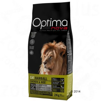 Optimanova Hairball Kattenvoer 8 kg