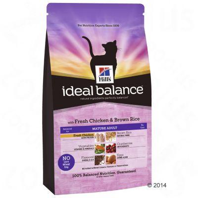 hill-s-feline-ideal-balance-mature-kylling-ris-okonomipakke-2-x-2-kg