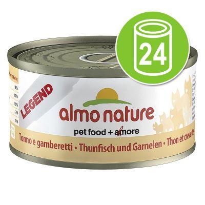 Almo Nature Legend voordeelpakket kattenvoer 24 x 70 g - Zalm met Wortel