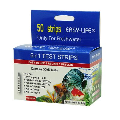Easy-Life Test Strips 6 in 1 Watertest - 50 Teststrips