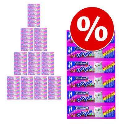 Ekonomipack: 60 st Vitakraft Cat Stick Mini á 60 g - Anka & kanin (60 x 6 g)