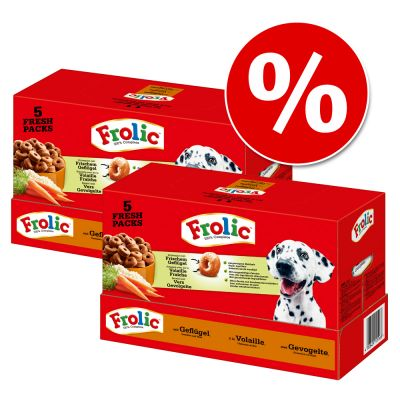 Frolic 2 x 7,5 kg - Pack Ahorro - Complete con vacuno (2 x 7,5 kg)