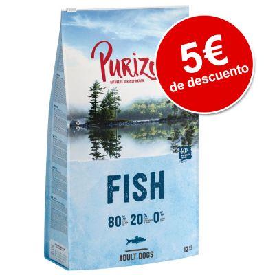 Purizon 12 kg pienso para perros ¡con 5€ de descuento! - NUEVA RECETA: Adult Pescado