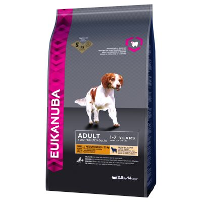Eukanuba Adult Small & Medium Lamb & Rice - 12 kg