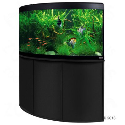 Fluval Venezia 350 -kulma-akvaariopaketti - musta