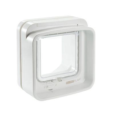 SureFlap DualScan™ -mikrosiruluukku - oheen: lisäosa ikkunalasiin asentamiseen, valkoinen