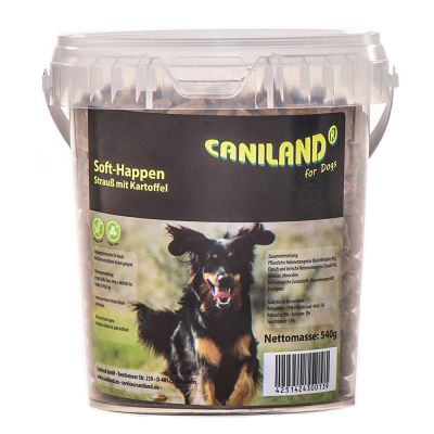 Caniland Soft Strauß-Happen getreidefrei
