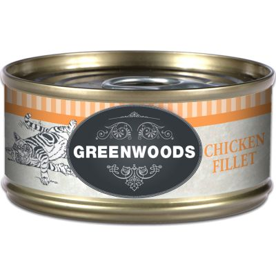 Greenwoods Adult Chicken - 6 x 70 g