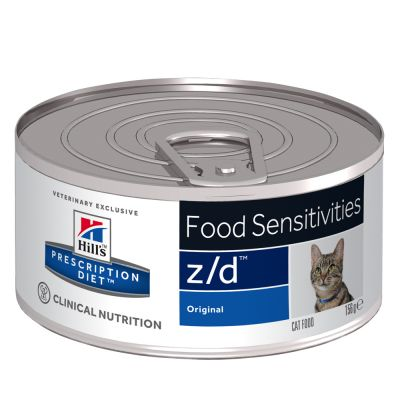 Hill's Prescription Diet Feline z/d Food Sensitivities Original - 6 x 156 g