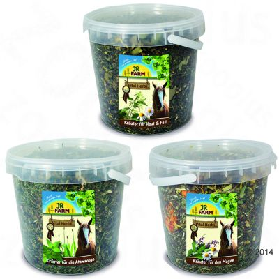 Blandpack: JR Horse Vital-Herbs – 3 x 250 g blandade sorter