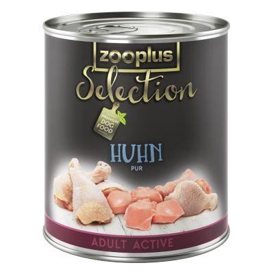 zooplus-selection-adult-active-kip-puur-hondenvoer-24-x-400-g