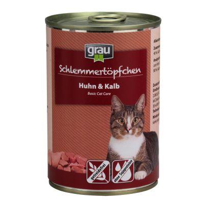 Grau Gourmet, viljaton 6 x 400 g - kani, nauta & ankka