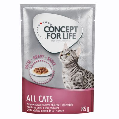 Concept for Life All Cats - in Gravy - 12 x 85 g