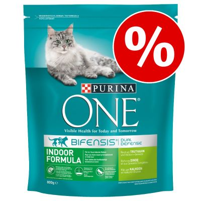Purina ONE -kissanruoka 4 x 3 kg erikoishintaan! - Sensitive