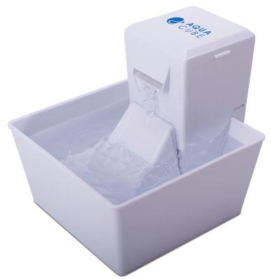Aqua Fountain by PetSafe Aqua Cube Trinkbrunnen - Komplettset: Brunnen + 4 Ersatzaktivkohlefilter
