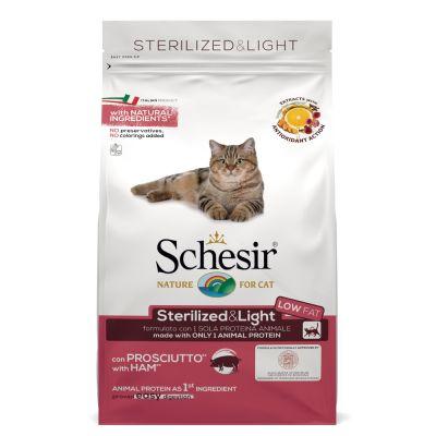 Schesir Sterilized & Light mit Schinken