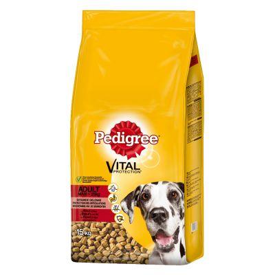 Pedigree Adult Maxi con buey y arroz pienso para perros - 2 x 15 kg - Pack Ahorro