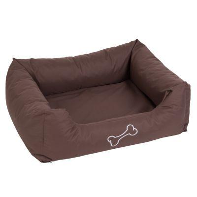 Hundebett Strong&Soft - braun - L 80 x B 65 x H 25 cm
