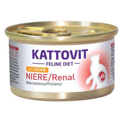 Kattovit Renal Diet 12 x 85 g - kana