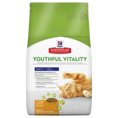 Hill's Science Plan Adult 7+ Youthful Vitality Mini Chicken & Rice - 6 kg