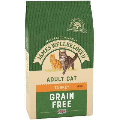 James Wellbeloved Grainfree Turkey - 4 kg
