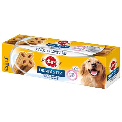 Pedigree Dentastix Twice Weekly (Dentaflex) - S: 12 x 40 g