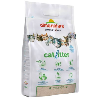 Image of Almo Nature Cat Litter - 2 x 4,54 kg