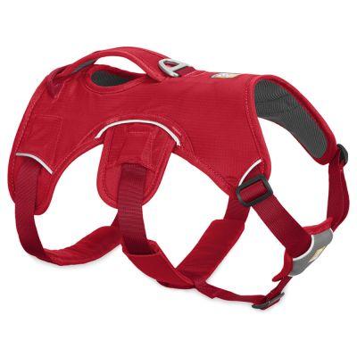 Ruffwear Web Master Harness -koiranvaljaat, punainen - rinnanympärys 81-107 cm, L 25 mm (L-XL-koko)