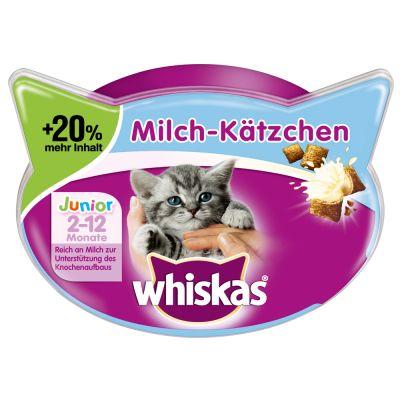 Whiskas-maitomurot 20 % enemmän vitamiineja - säästöpakkaus: 6 x 66 g