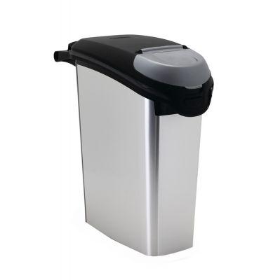 Curver Container Metallic -ruokasäiliö - max 20 kg kuivaruokaa