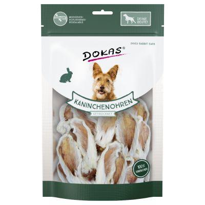 Dokas-kaninkorvat karvoineen - 100 g