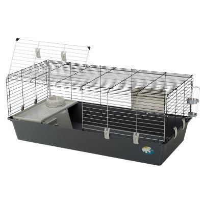 ferplast-konijnenkooi-rabbit-120-onderbak-lichtgrijs