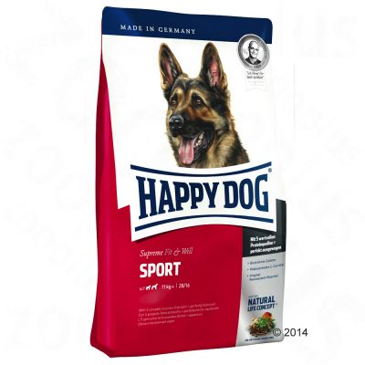 Happy Dog Supreme Fit & Well Adult Sport – säästöpakkaus: 2 x 15 kg