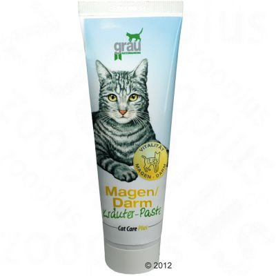 Grau Cat Care Plus mage/tarm örtpastej – 100 g